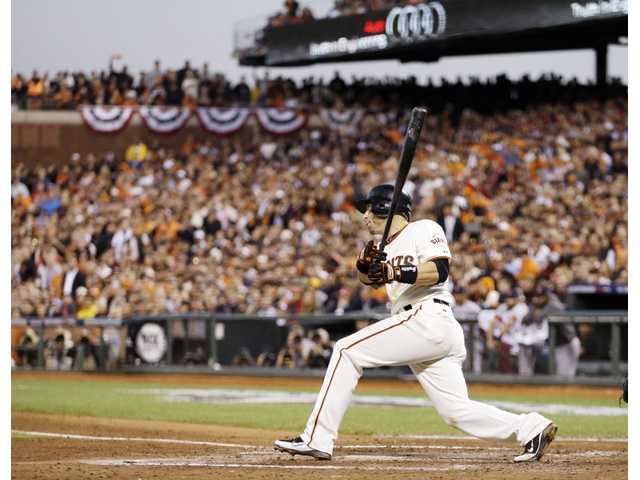 MLB: Giants beat Cardinals 7-1 in Game 2 to even NLCS