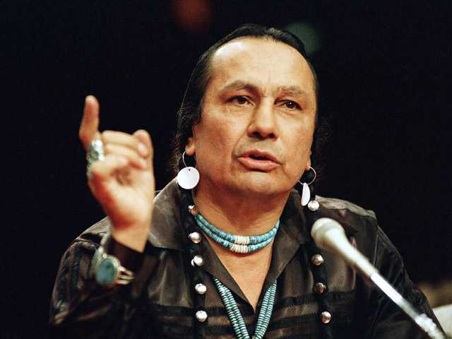 Longtime Indian activist Russell Means dies at 72