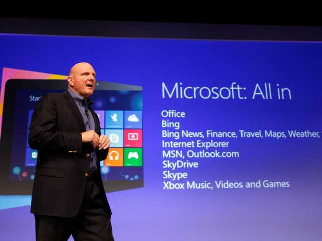 Windows 8 event a subdued affair, theatrics absent
