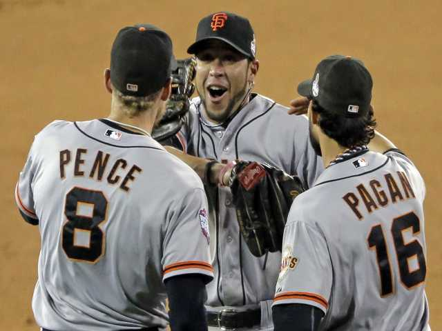 MLB: Giants take 3-0 lead in World Series