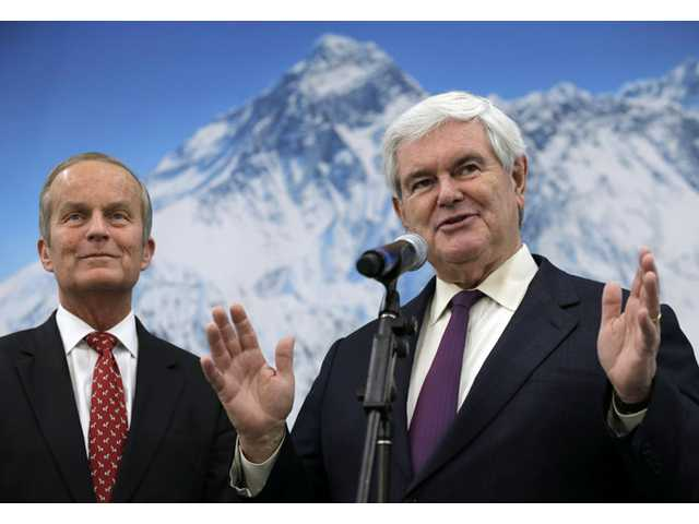 Gingrich raising cash, profile for Akin Senate bid