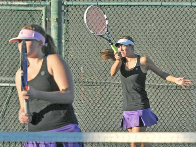 CIF tennis playoffs: One too many setbacks