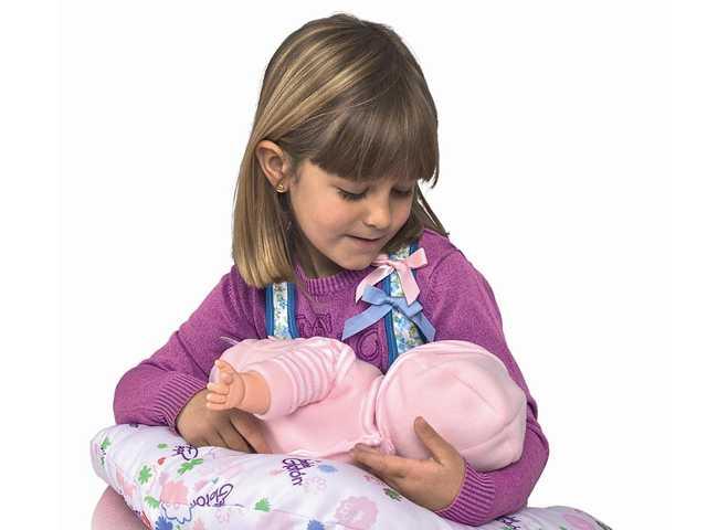 Breastfeeding baby doll: creepy or groundbreaking?