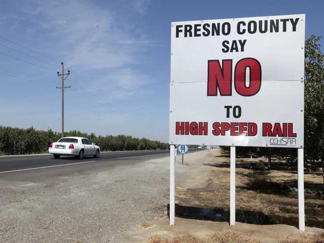 Judge backs Calif. high-speed rail over farmers