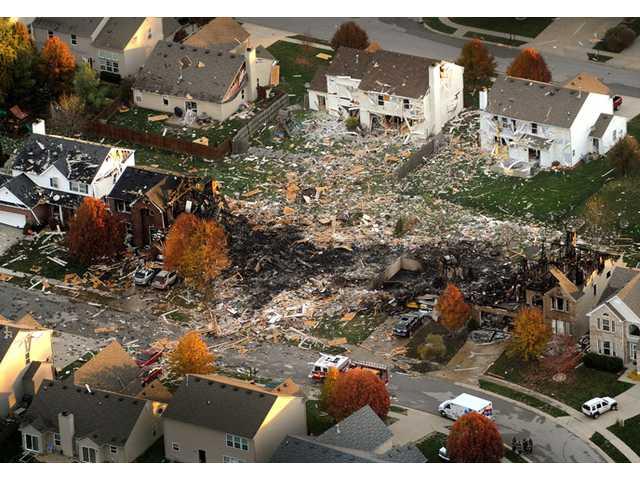 Ind. home explosion now homicide investigation