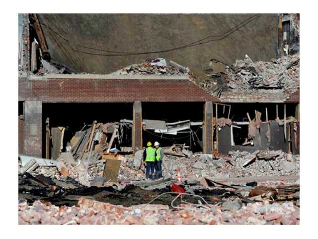 Cause of Mass. gas blast that hurt 18 being probed