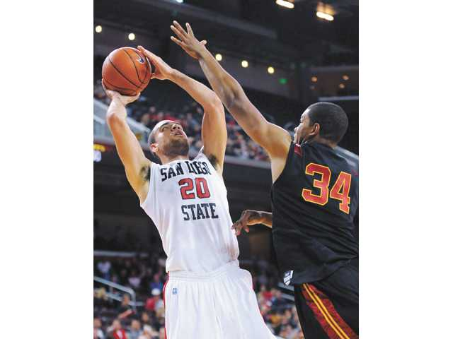 USC can't climb back on Aztecs
