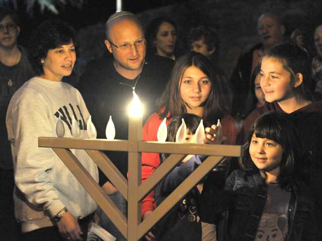 Menorah lightings begin