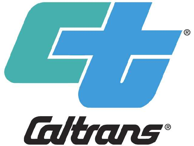 This just in from Caltrans