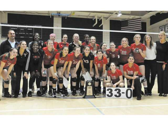 College volleyball: SCV plays part in 3-peat