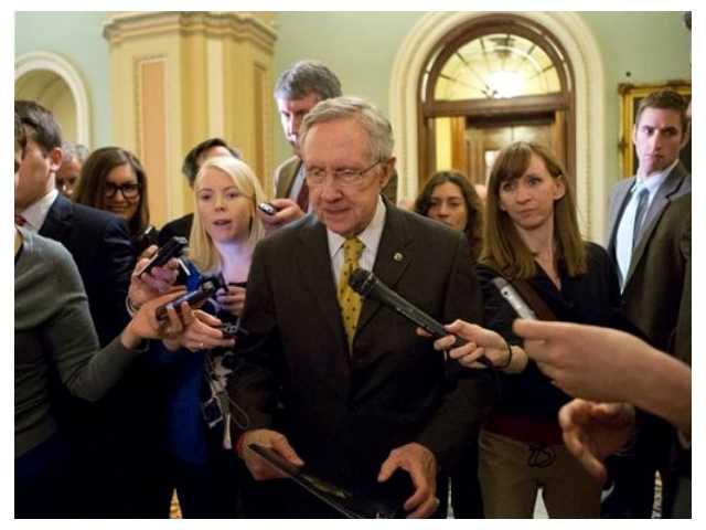 Senate leaders offer dour take on 'cliff' talks