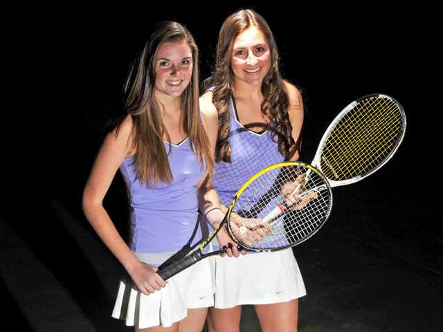 2012 All-SCV Girls Tennis: Keith and Inchalik, a reason for the return