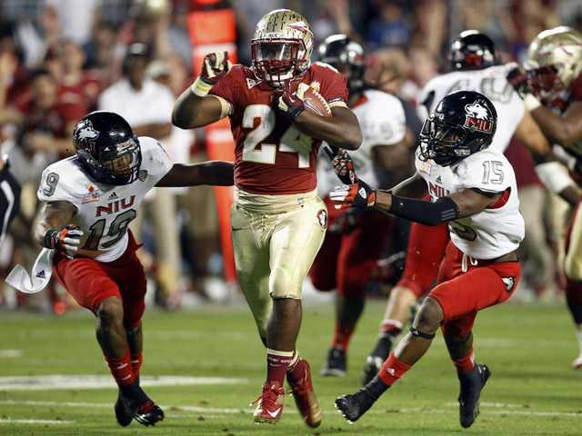 College football: No. 13 FSU beats No. 16 NIU 31-10 in Orange Bowl