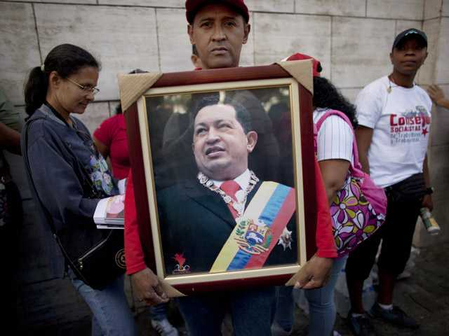 Hugo Chavez's allies re-elect legislative chief