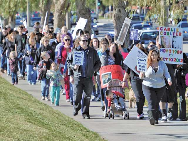 Community walks for Good Samaritan drug law awareness