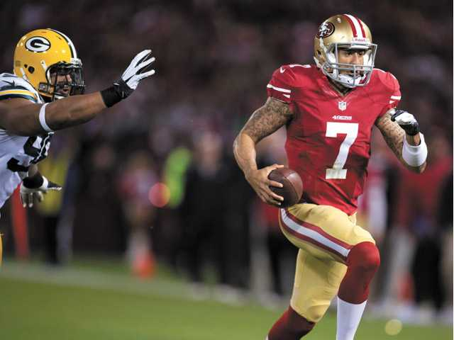 NFC Divisional playoff: Kaepernick proves his worth in win