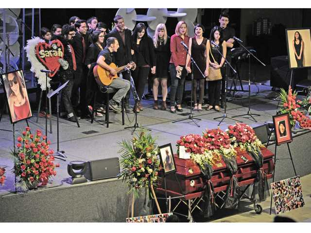 Alarid memorial draws crowd of hundreds