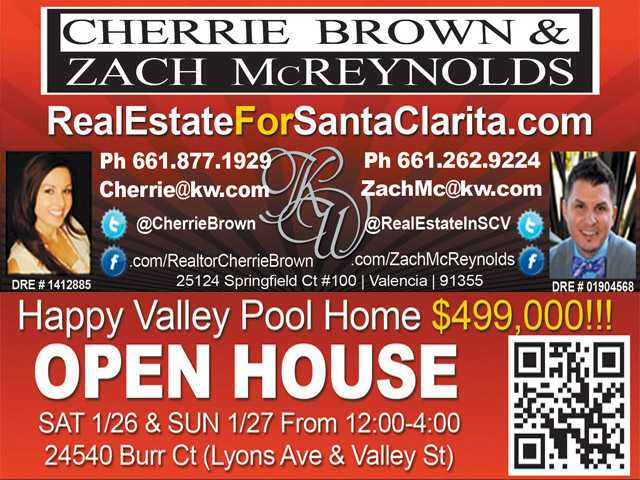 Open House for Happy Valley Pool Home