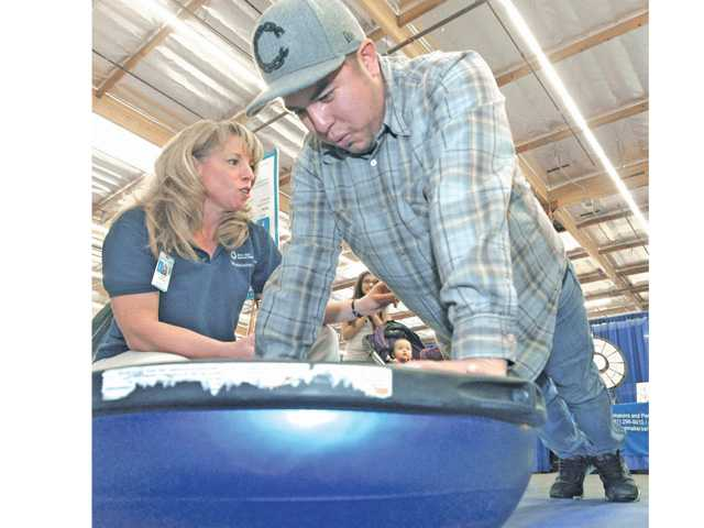 Two-day health fest draws crowd