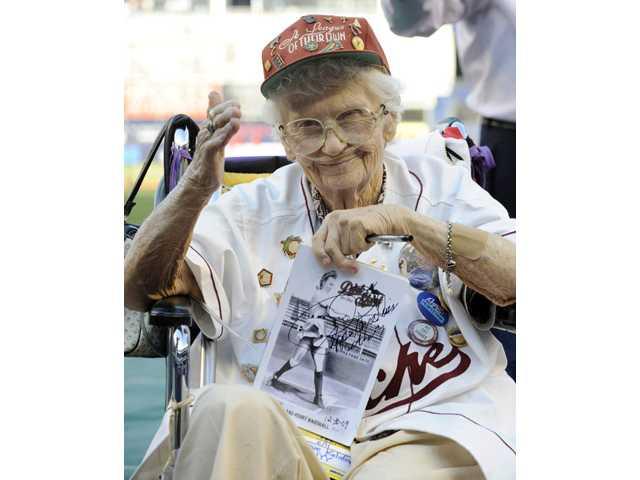 Women's baseball star, movie inspirer Davis dies