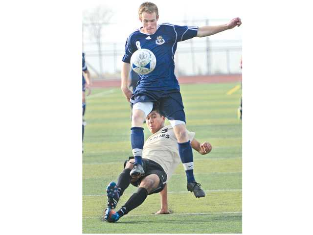 Prep boys soccer: The breaks go both ways