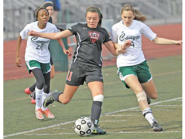 Prep girls soccer: All the right places