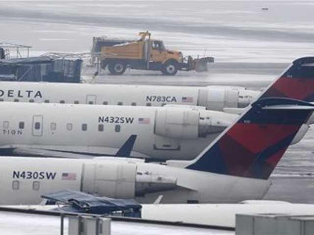 LAX flights canceled due to East Coast storm