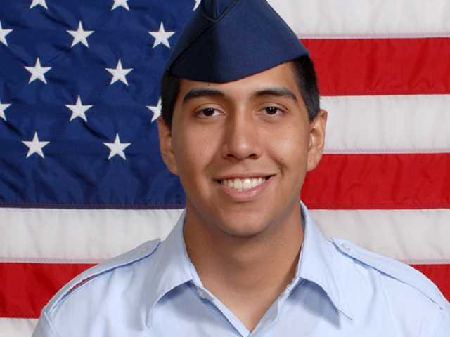 In the service: Nicolas A. Diaz