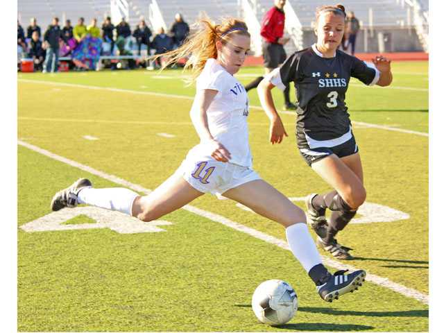 Prep girls soccer: Better is bested as Vikings fall