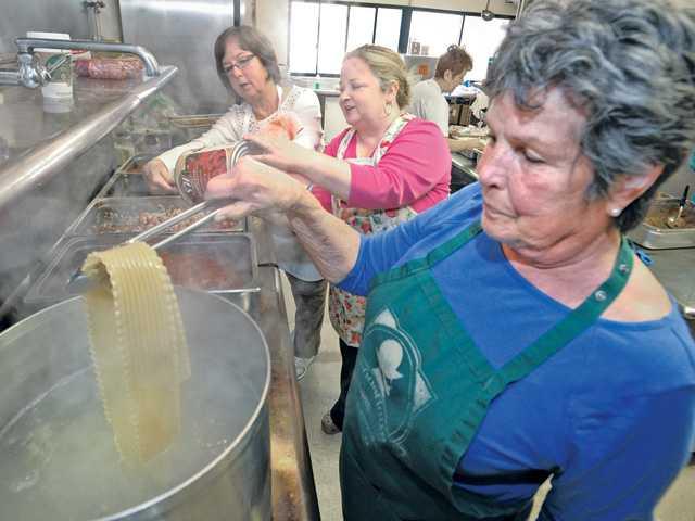 Lasagna fundraiser