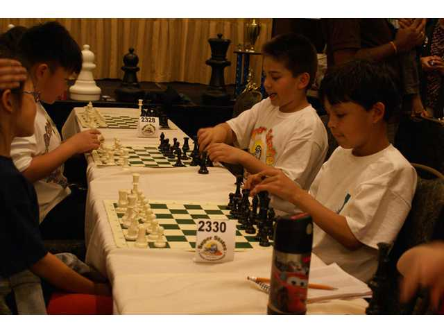 Chess players compete for championship