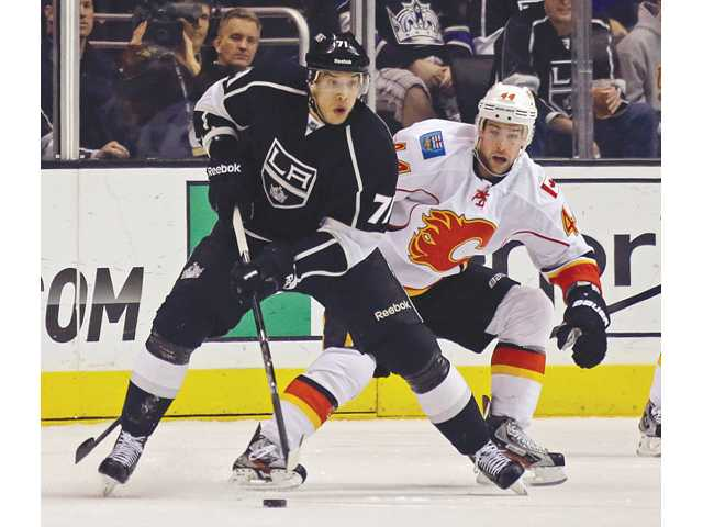 Brown leads surging Kings past Calgary again