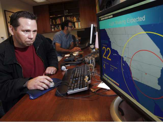 State prototype quake warning system gave heads up
