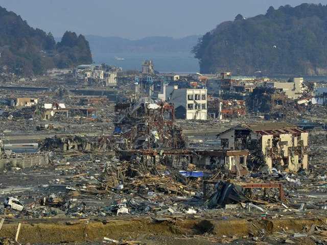 Study makes chilling forecast about quake, tsunami
