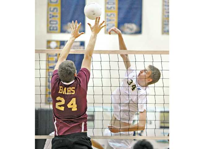 West Ranch boys volleyball sweeps Alemany