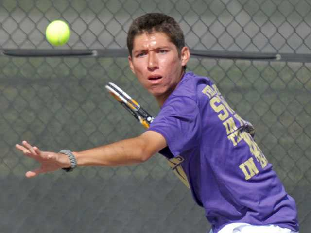 Foothill league boys tennis teams play openers
