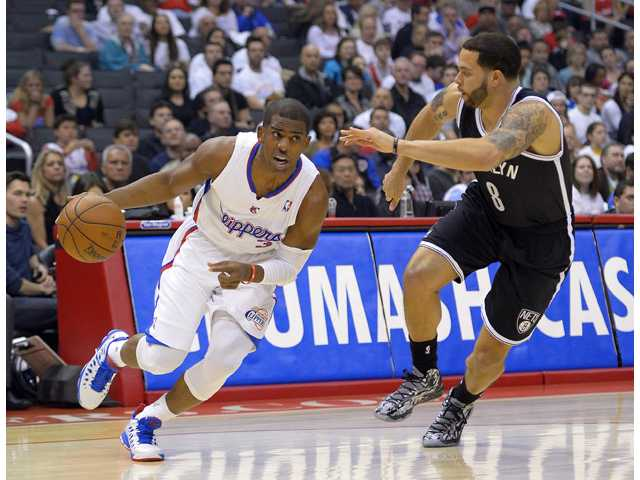 Paul's 29 points help Clippers beat Nets 101-95