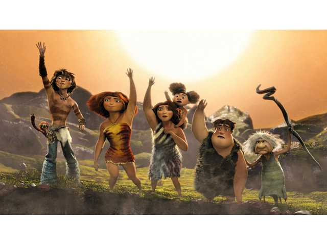 'The Croods' catches fire with $44.7M opening
