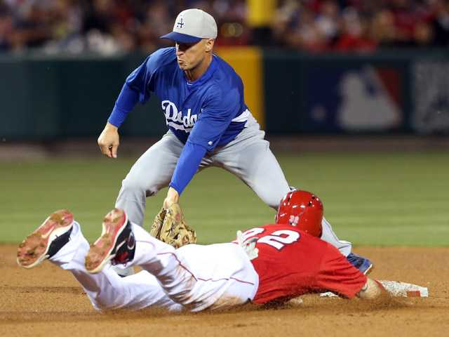 Angels defeat Dodgers in walk-off exhibition win