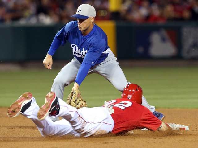 Angels defeat Dodgers in walk-off exhibition win