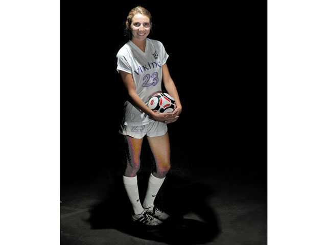 2013 All-SCV Girls Soccer: Valencia's Taylor Venegas, Rapid Ascent