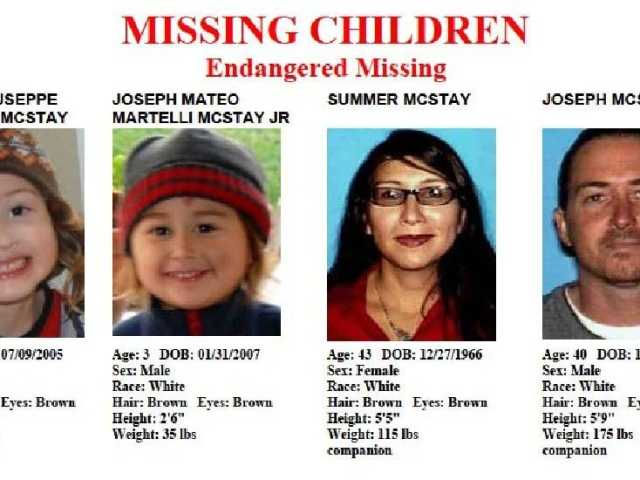 Investigators: Missing family left US voluntarily
