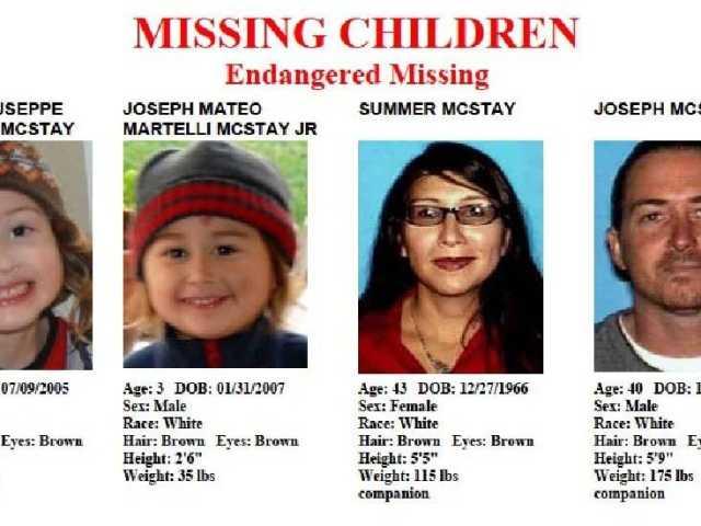 Investigators: Missing family left US voluntarily