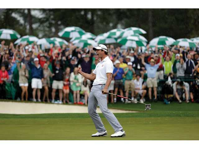 Adam Scott becomes first Australian to win Masters