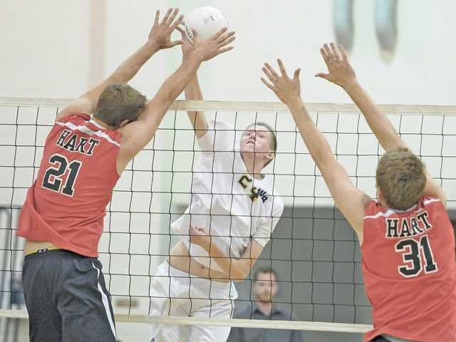Wildcats volleyball in driver&#39;s seat with win over Hart