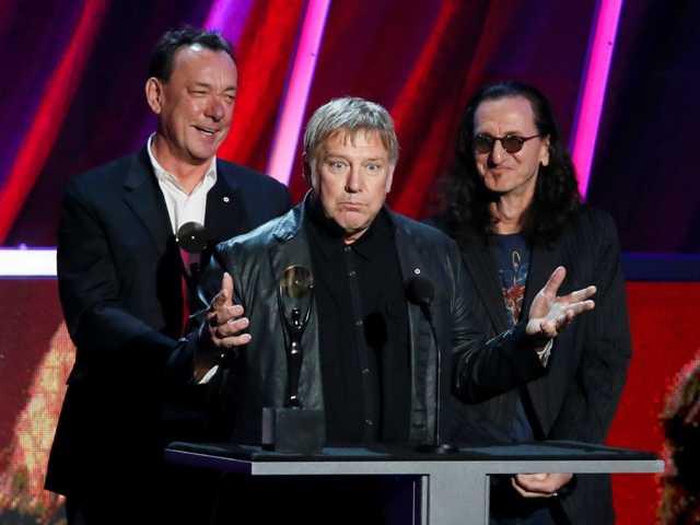 Rush jams into Rock and Roll Hall of Fame