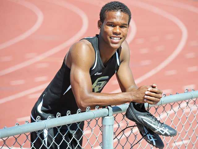 Golden Valley's James Chevious has surprised on the track