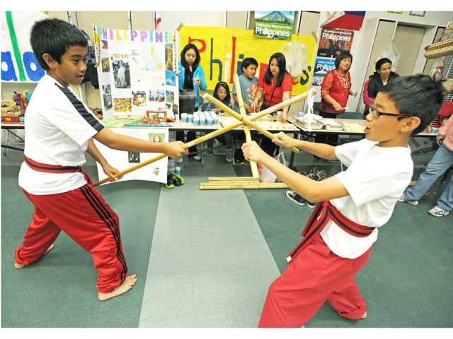 Multicultural Day celebrated at Leona Cox Elementary School