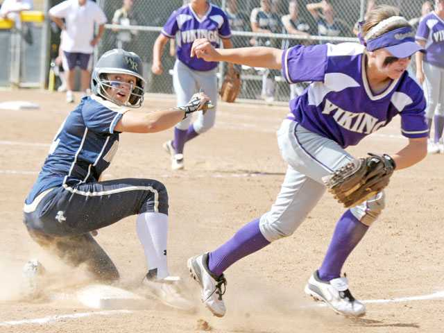 West Ranch softball defeats Valencia for two-game lead in standings