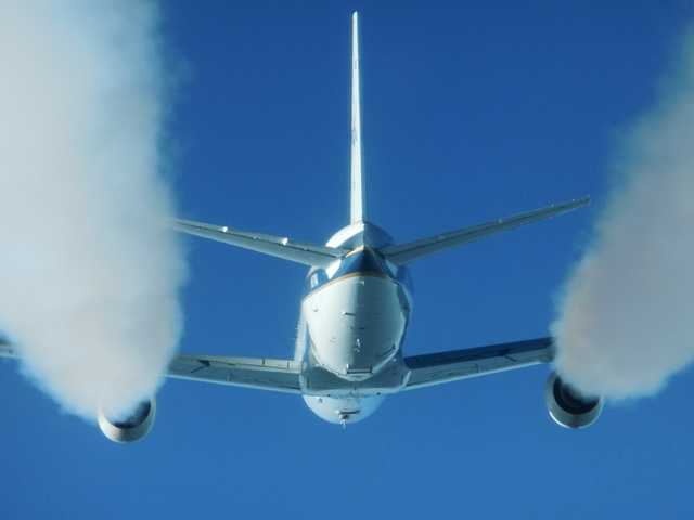 NASA measures effects of jet engine biofuel